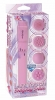 Luv touch mighty mite waterproof w/4 massage heads - pink
