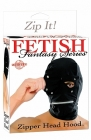 Fetish Fantasy Series Zipper Head Hood