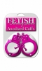 Fetish Fantasy Anodized Cuffs Pink Sex Toy Product Image 2