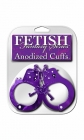 Fetish fantasy series anodized cuffs - purple