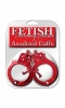 Fetish fantasy series anodized cuffs - red Sex Toy Product Image 2