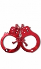 Fetish fantasy series anodized cuffs - red Sex Toy Product