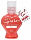 Mini Liquid Love Warming Massage Lotion Cherry 1.25oz