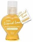 Mini Liquid Love Warming Massage Lotion Peaches Cream 1.25oz