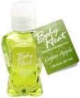 Body Heat Warming Massage Lotion Green Apple 1.25oz.