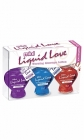 Mini Liquid Love Warming Massage Lotion Sampler 3 Pack 1.25oz Sex Toy Product