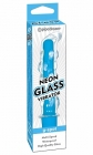 Neon Glass Vibrator Blue