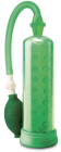 Pump Worx Silicone Pump Green Sex Toy Product