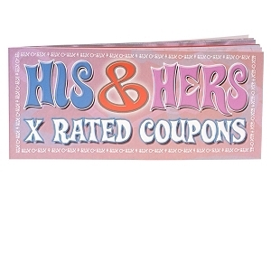 His and Hers X Rated Coupon Ea
