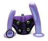 Tantus bend over intermediate ppa w/harness - purple