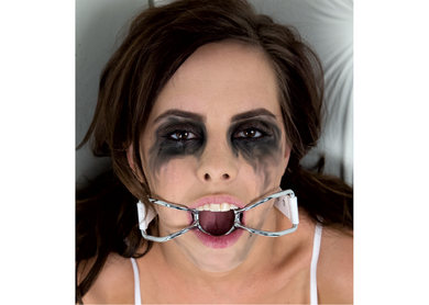 Asylum Patient Mouth Restraint W Metal Bit