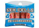 Sex cells batteries - n size pack of 4