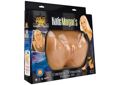 Wildfire Celebrity Series Katie Morgan's CyberSkin 7X Vibrating Pussy and Ass