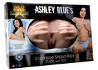 Wildfire Celebrity Series Ashley Blue's CyberSkin Spread Wide Pussy and Ass