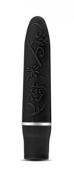 Rose Bliss Vibe Black Sex Toy Product