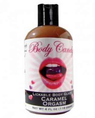 Lickable Body Glaze Caramel Orgasm