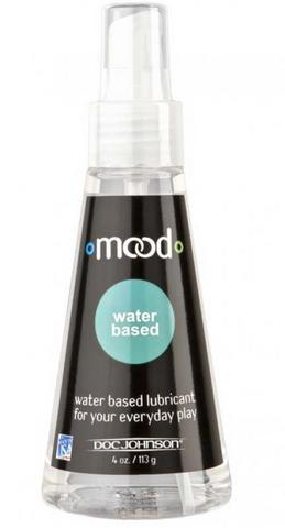 Mood Water Based Lube 4 oz Sex Toy Product