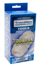 Titanmen Tool Box Clear