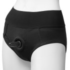 Vac-U-Lock Briefs Panty Harness Black S/M Sex Toy Product