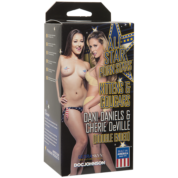 Kittens & Cougars Dani Daniels & Cherie Deville Pussy Sex Toy Product