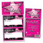 Bachelorette Party Girl Name Tag Stickers