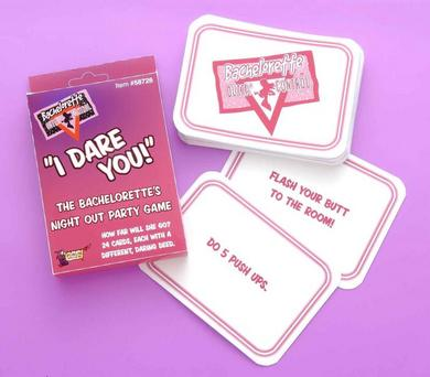 Bachelorette I Dare You Card Game