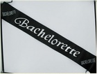 Bachelorette Black Sash Sex Toy Product