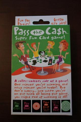 Pass The Cash Card Game Sex Toy Product