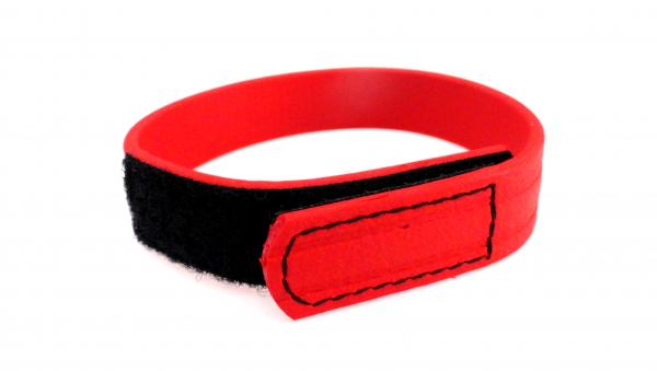 C Ring Biothane Velcro - Red Sex Toy Product