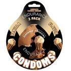 Endurance Flavored 3Pk Condoms-Vanilla