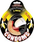 Endurance Flavored Condoms 3Pk-Banana