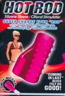 Hot Rod Silicone Sleeve Clit Stim. Magenta
