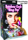 Rainbow Ring Pop Display Sex Toy Product