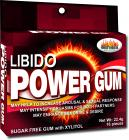 Libido Power Gum 16 Count Package