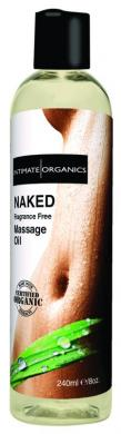 Naked Unscented Massage Oil 240Ml