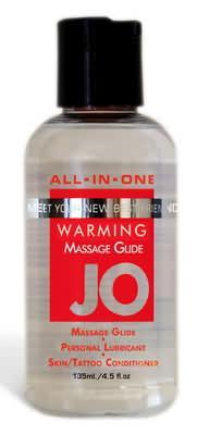 Jo 4.Oz Sensual Massage Oil Warming