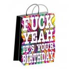 F*ck Yeah It's Your Birthday Gift Bag Sex Toy Product