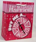 I Am Getting Married Spinner Gift Bag