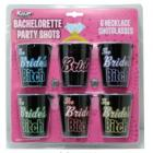 Bachelorette Party Shot Glass Necklaces 6 Pack