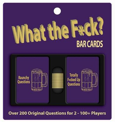 What the fuck? bar cards