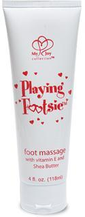 Playing Footsie Strwbry Mint 4Oz Tube