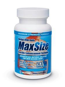 Max Size 60Pc Bottle