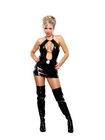 Keyhole Dress Black S/M Sex Toy Product