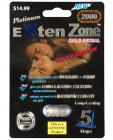 Exten Zone Platinum 2000 1 Capsule Sex Toy Product