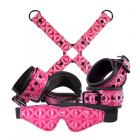 Sinful Bondage Kit Pink Sex Toy Product
