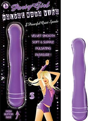 Party Girl Velvet Wave Vibe Purple
