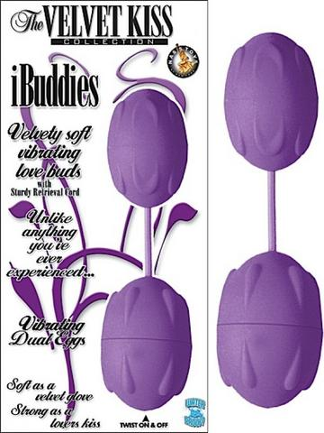 THE VELVET KISS COLLECTION IBUDDIES - PURPLE
