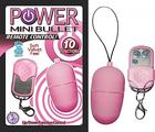 Power Mini Bullet Remote Control Pink Sex Toy Product
