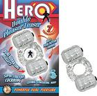 Hero Double Pleaser Teaser Clear Sex Toy Product
