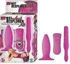My 1St Anal Explorer Kit Pink Sex Toy Product